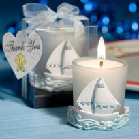 Nautical Themed Candle Holder Favour